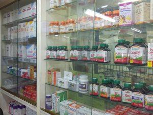 Witryna z lekami