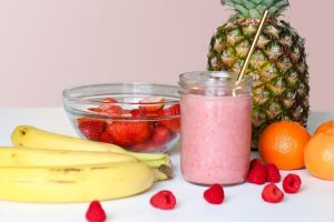 Zdrowy sok owocowy