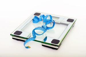 Centymetr na wadze