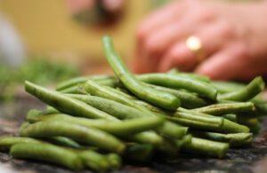 Zielona fasolka szparagowa